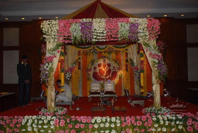 Flower Decoration For Varamahalakshmi Festival